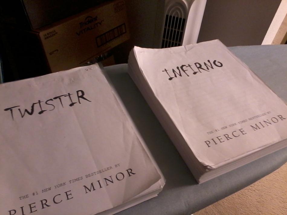 Infirno & Twistir Manuscripts